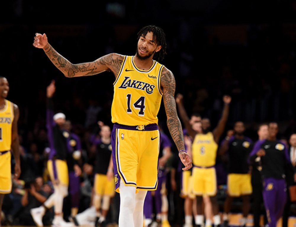 New Look Lakers Net Preseason Win