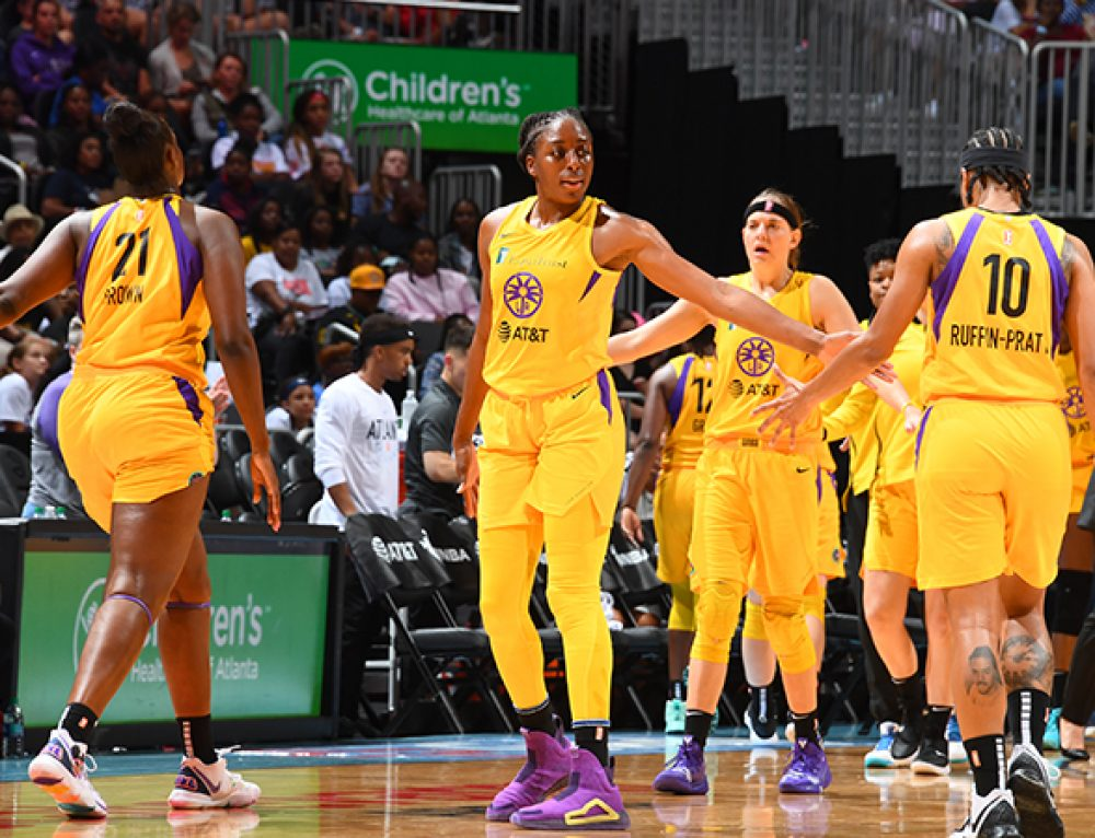 Sparks Roll Into All-Star Break